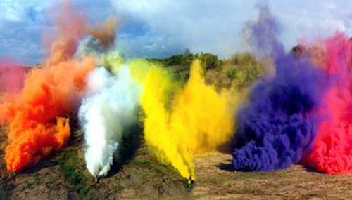 1-pyrotechnic-ammunition color