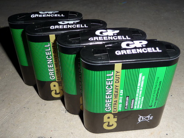 baterie greencell